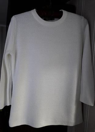 🌿 базовая кофта пуловер крупной вязки