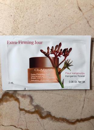 Пробники дневного антивозрасного крема для лица clarins