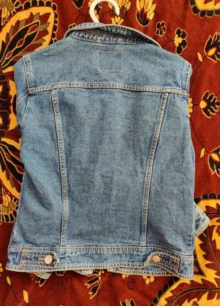 Жіноча джинсовая курточка / s / denim co
