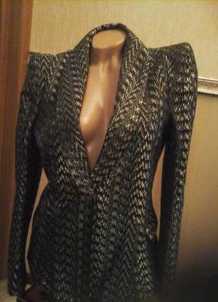 Пиджак в стиле balmain