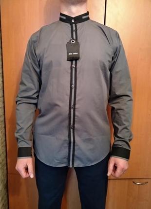 Крутая мужская рубашка 48 размер