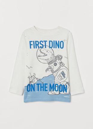 Реглан н&м динозаврик на луне