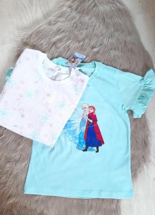 Набор из 2-х футболок frozen