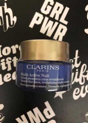 Ночной крем для лица clarins
