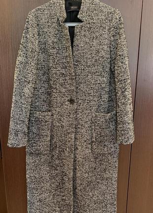 Zara пальто женское