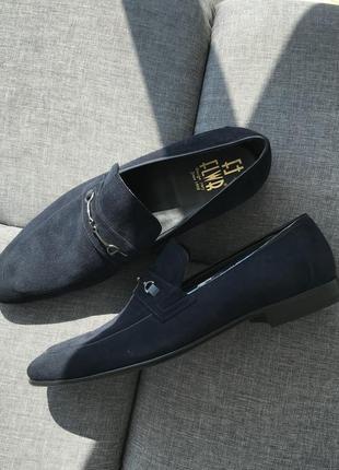Туфли замшевые flwr / туфлі замшеві