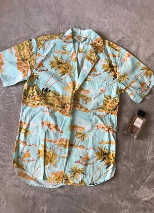 Мужская рубашка/гавайка