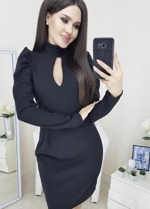 Платье рукава короткое