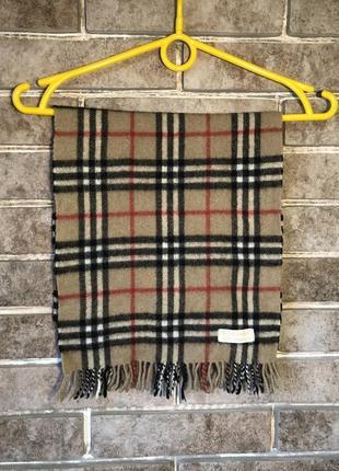 Кашемировый шарф burberrys burnerry