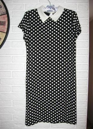 Трикотажное платье select м