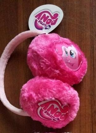 Мягкие наушники для девочек пони  дисней