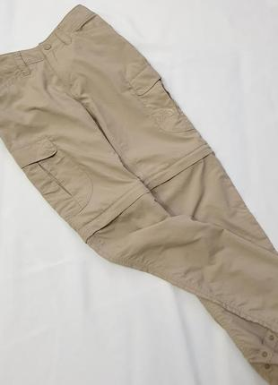 The north face оригинал брюки штаны карго с карманами пояс резинка туризм