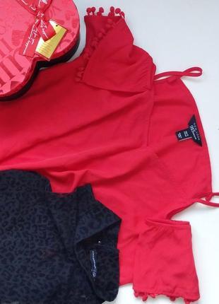 Блуза от new look и топ с модным лео-принтом atmosphere
