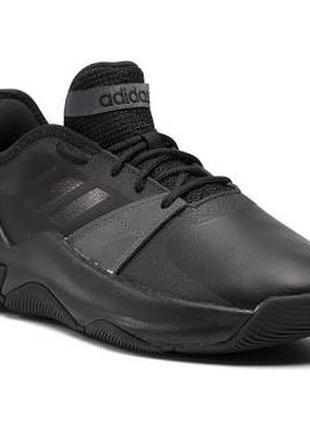 Оригінал/ якісні однотонні кросівки/ кожаные кроссовки adidas streetflow