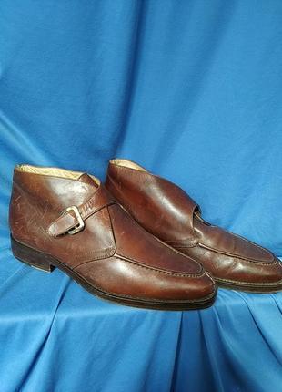 Туфли  кожа италия bernini