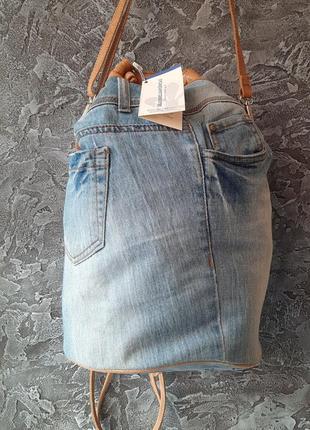 Рюкзак джинсовый(италия)