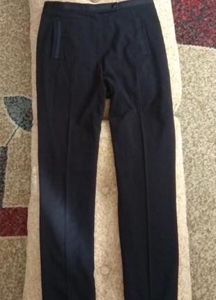 Брюки черные высокие со стрелками прямые marks&spencer 12р. sale