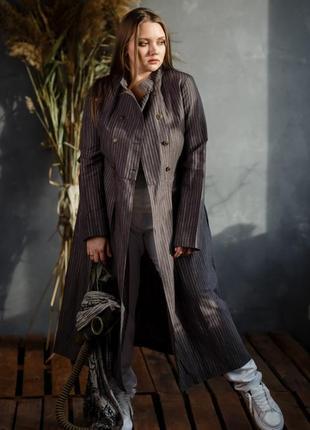 Льняное платье/пальто md vera