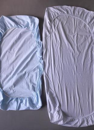 Простынь на резинке трикотаж mothercare детская