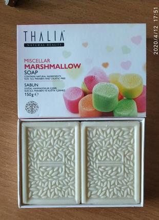 Натуральное мицелярное мыло thalia marshmallow