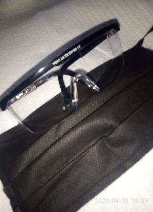 Набор! очки и маска для защиты от covid-19