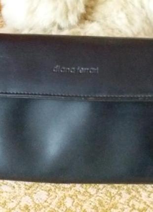 Черный клатч сумочка
