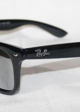 Очки ray ban wayfarer 2140 зеркальные поляризационные
