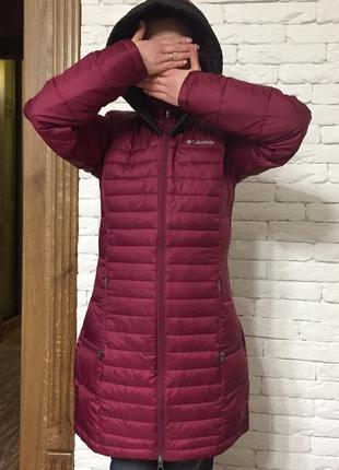 Пальто курточка, плащик columbia. демісезон, весна осінь. нове. дуже гарний колір.