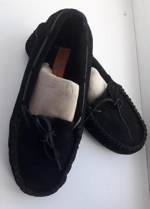 Замшевые мокасины, туфли