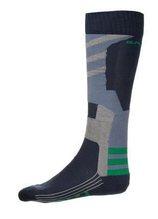 Шкарпетки лижні emmitou 35-37, 38-40 navy-grey-green
