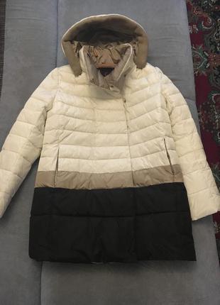 Стильный пуховик, курточка,пальто от clasna р.48-50