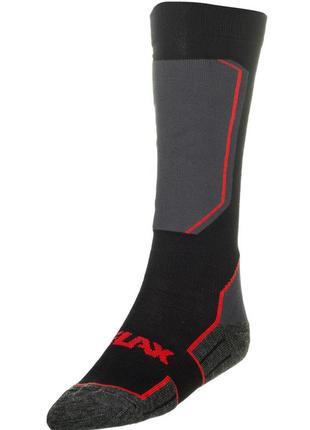 Шкарпетки лижні relax carve rs033 black-grey