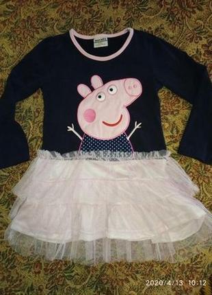 Платье,сукня свинка пеппа