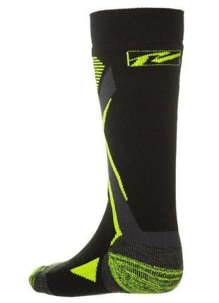 Шкарпетки лижні дитячі relax thunder rs036 m black-green2 фото