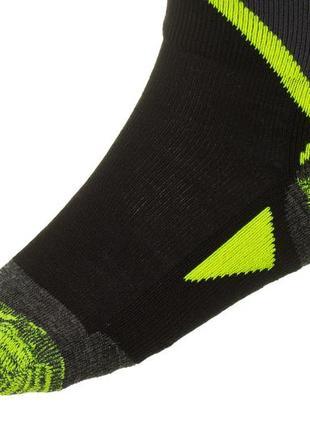 Шкарпетки лижні дитячі relax thunder rs036 m black-green4 фото