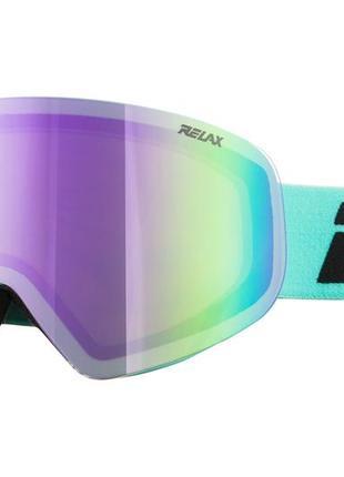Маска гірськолижна relax sierra htg61b turquoise