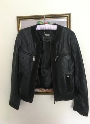 Куртка кожаная апарт