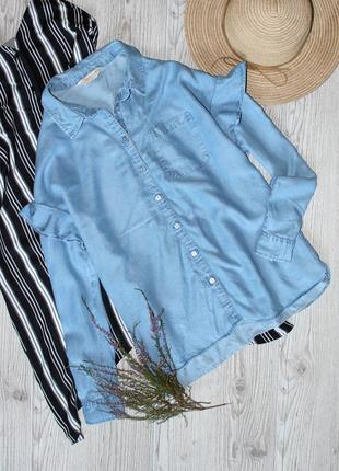 Джинсовая рубашка f&f \ 2020