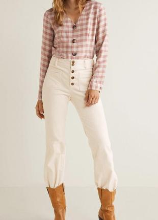 Актуальная блузка mango актуальна блуза