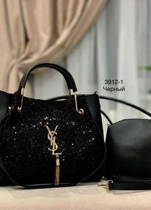 Женская сумка экокожа комплект (арт.л1046)