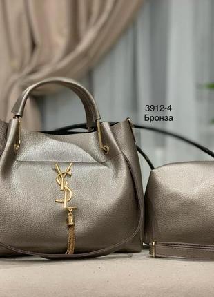 Женская сумка экокожа комплект (арт.л1049)