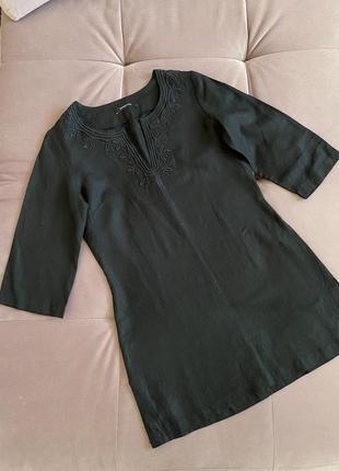Туника, рубашка лён 100% dunnes stores