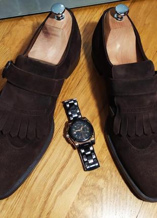 Monk лоферы fratelli rossetti original (италия). обувь люкс-класса.