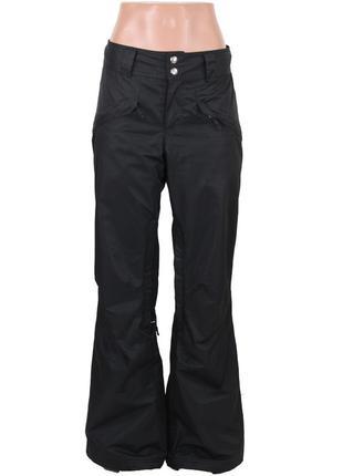 Черные лыжные штаны