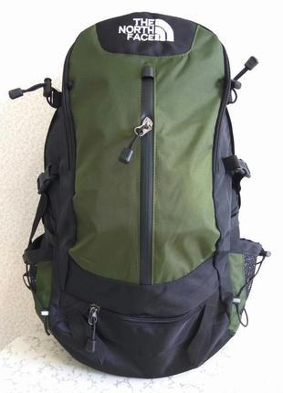 Рюкзак the north face туристический экспедиционный, цвет haki 40 l трекинговый акция
