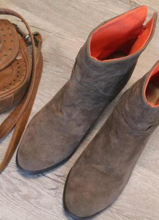 Шикарные ботинки на каблуке oodji