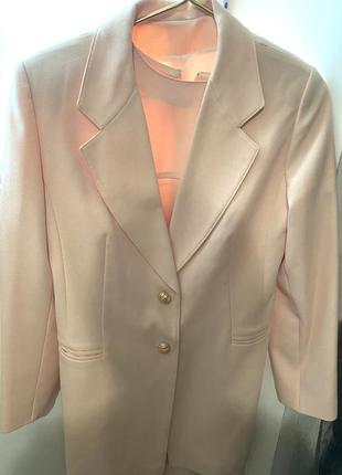 Костюм женский двойка (платье и пиджак)