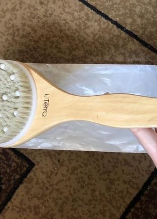 Щетка для масажа, щетка для массажа, сухой масаж, сухой массаж, сухий масаж, масажна щітка