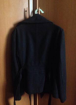 Пальто zara (осень-весна) теплое