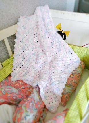 Гиппоаллергенный плед для малыша